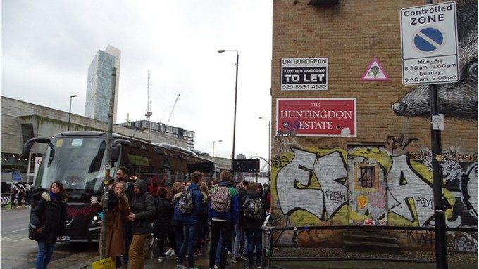Quartier de Soreditch, haut lieu du Street Art !