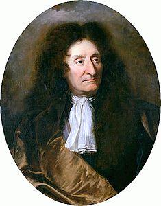 J. de La Fontaine. Portrait par Hyacinthe Rigaud, 1690. Musée de Montserrat
